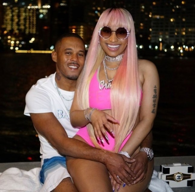 Image result for images of Nicki Minaj and her boyfriend Kenneth Petty