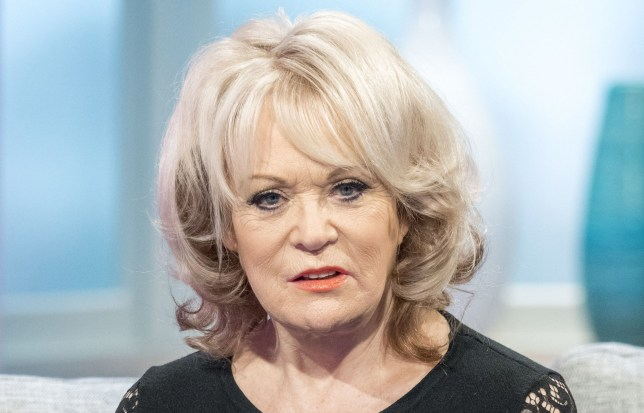 Editorial use only Mandatory Credit: Photo by Ken McKay/ITV/REX (9350757bn) Sherrie Hewson 'Lorraine' TV show, London, UK - 01 Feb 2018 SLITHER WITH KATE GARRAWAY, SHERRIE HEWSON AND AMANDA BARRIE Kate Garraway and Sherrie Hewson will be live on the sofa to talk about revealing their final Lose The Booze test results later in the show and Sherrie???s good friend Amanda Barrie will be joining them fresh from the Celebrity Big Brother House.