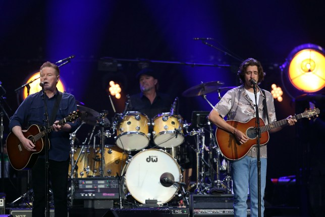 Glenn Frey's son helps Eagles take flight at triumphant Wembley Show
