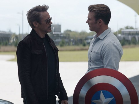 Iron Man and Captain America's tear-jerking Marvel farewell in Avengers: Endgame extras