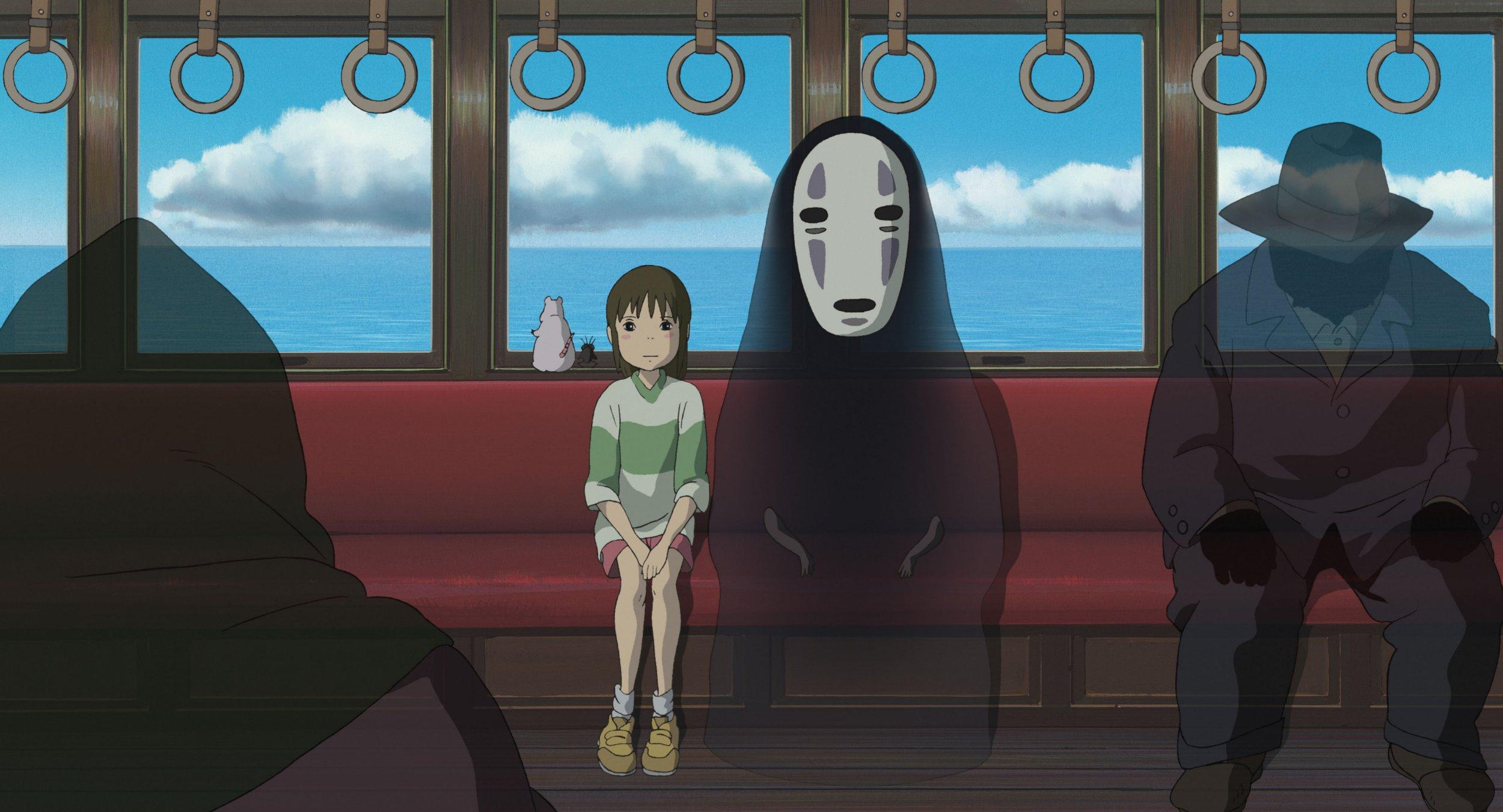 Still from Japanese anime Spirited Away