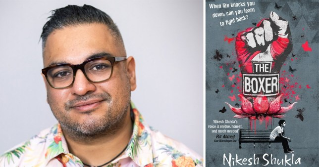 Image of Nikesh Shukla and his new book The Boxer
