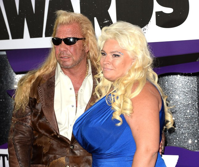 Duane Chapman (Dog the Bounty Hunter) and Beth Chapman standing together