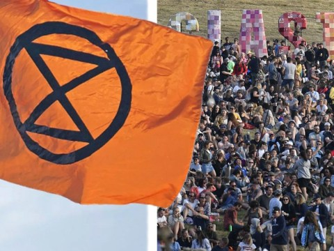 Glastonbury Festival to make a stand for the planet and create giant human hourglass