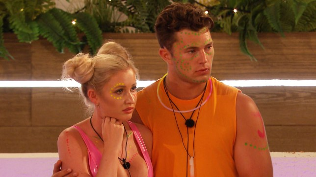 Love Island - Curtis and Amy