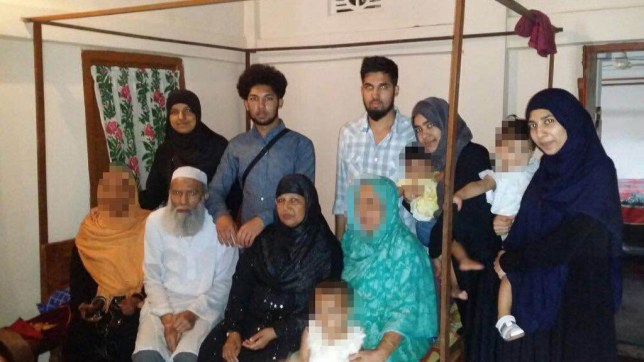 Picture: Bedfordshire Police Entire Mannan family dead Family who fled their home in Luton to join ISIS in Syria are all now DEAD