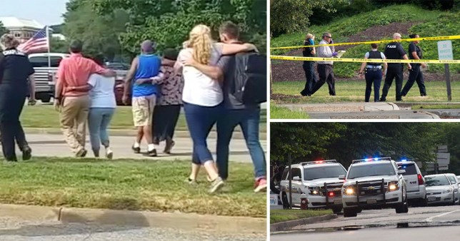 A shooter opened fire at his office in Virginia Beach, killing 12 people