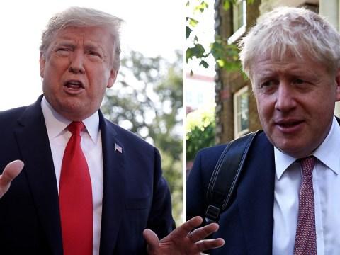 Donald Trump backs Boris Johnson to be the next UK Prime Minister