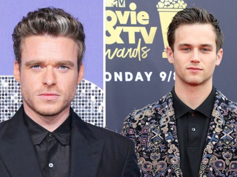 Richard Madden brushes off question asking if he's dating Brandon Flynn