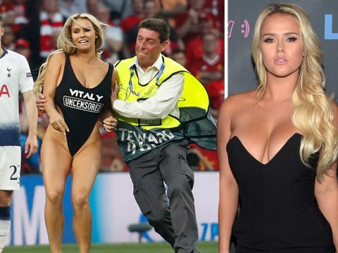 Champions League pitch invader was promoting porn website