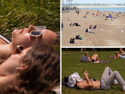 It's officially the hottest day of the year with temperatures hitting 28.8°C