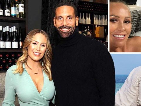 Rio Ferdinand calls fiancee Kate Wright 'my heart' in adorable birthday tribute