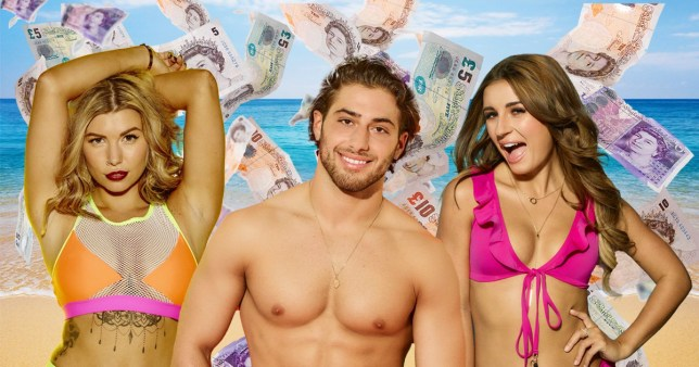 Comp of the wealthiest stars of Love Island