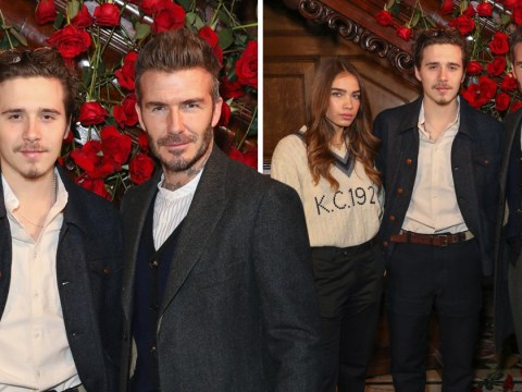 David Beckham 'asks Brooklyn to cool things off with Hana Cross' after weeks of public fighting