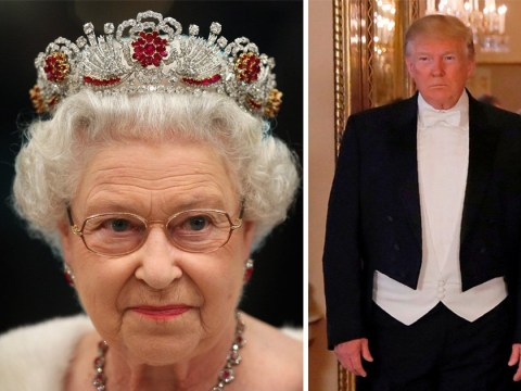 People think the Queen 'threw shade' at Trump with her tiara choice