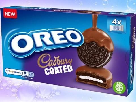Oreo releases cookie coated in Cadbury chocolate