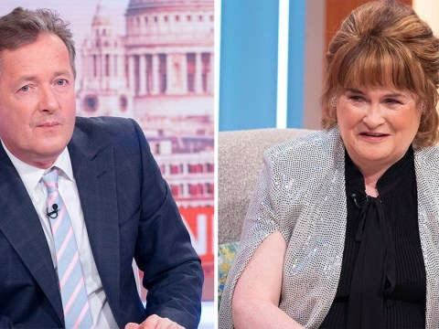 Susan Boyle still has the hots for Piers Morgan 10 years after Britain's Got Talent: 'His wife won't like this'
