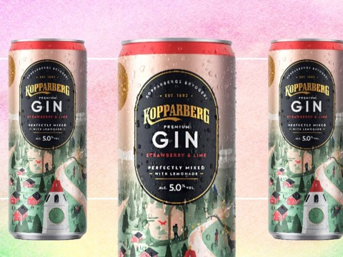 Kopparberg launches new cans of strawberry and lime gin with lemonade