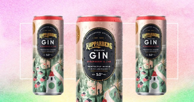 The new gin cans are now available