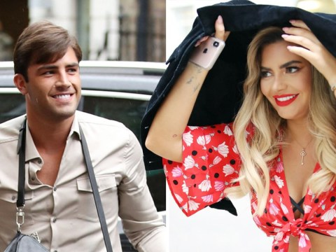 Jack Fincham reveals he's ready to move on from Dani Dyer as he films new Celebs Go Dating in the rain with Megan Barton Hanson