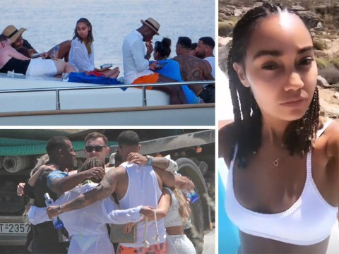 Leigh-Anne Pinnock and Rochelle Humes take over Mykonos for an Instagram-worthy sun holiday
