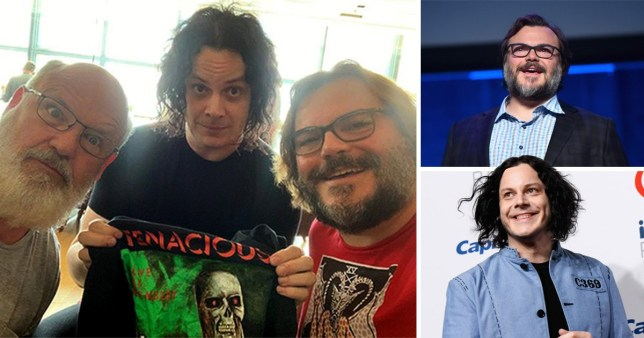 Jack White and Jack Black record music together but no word on if the act is called Jack Grey