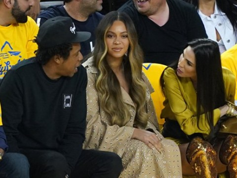 Beyonce fans not impressed as woman 'invades her personal space' at NBA Finals game
