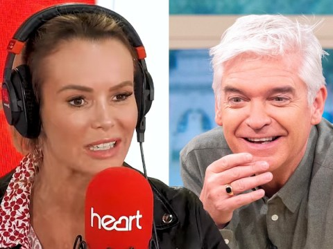 Amanda Holden resparks feud with Phillip Schofield after This Morning snub and slams him live on radio