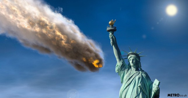 Nasa/ ESAL: Asteroid big as Statue of Liberty could hit
