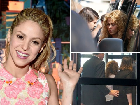 Shakira appears solemn as she pleads innocent in tax evasion case