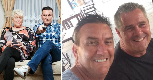 Gogglebox star Lee Riley and Jenny Newby and Steve Mail