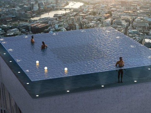 London is getting a stunning 'world first' infinity pool with 360-degree views on top of a skyscraper