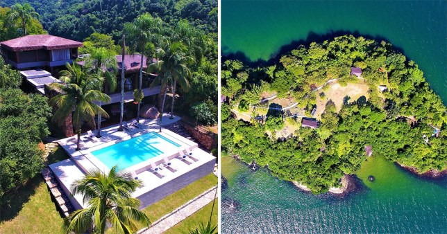 The stunning island