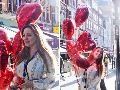 Kelly Brook won't let Love Island feud with Caroline Flack dampen her mood
