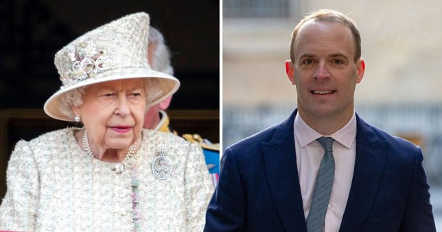 Any decision to suspend Parliament would involve the Queen in a constitutional crisis, because formally it is the monarch who ends a session of Parliament (Picture: Rex)