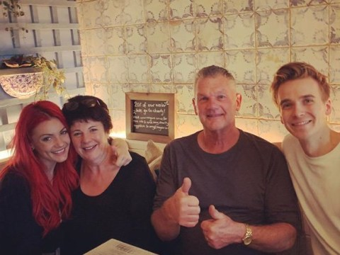 Strictly's Joe Sugg meets girlfriend Dianne Buswell's parents and it's adorable
