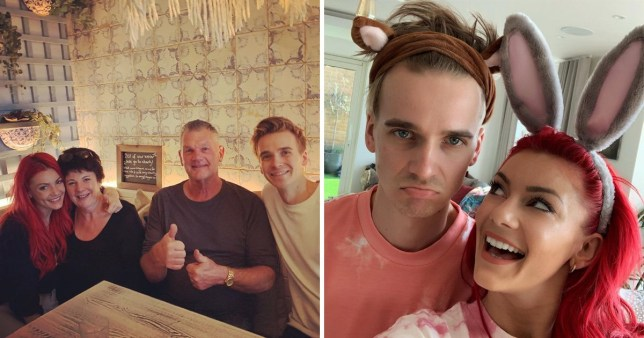Joe Sugg meets Dianne Buswell's parents for first time