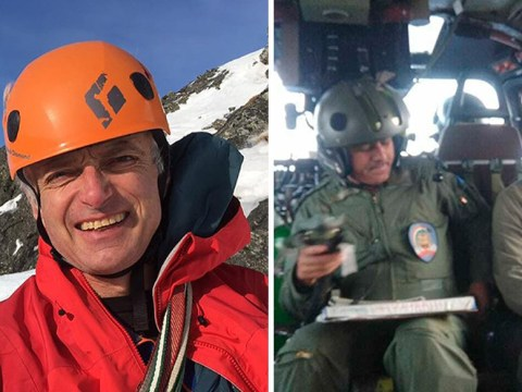 Attempt to retrieve bodies of British climbers from mountain 'not possible'