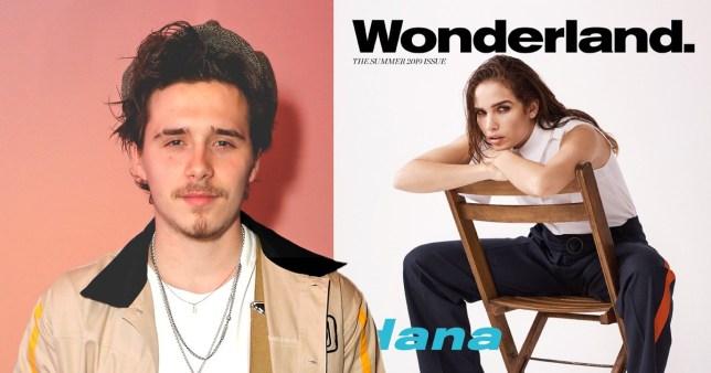Brooklyn Beckham photographs girlfriend Hana Cross on cover of Wonderland magazine
