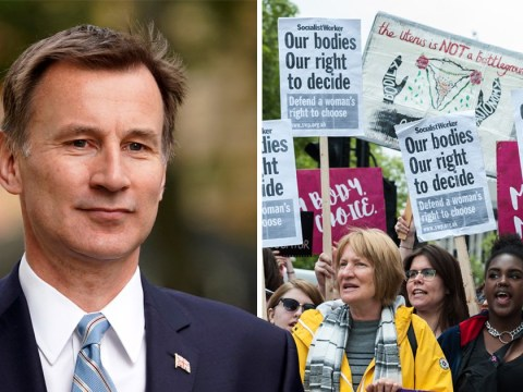 Anger as Jeremy Hunt says he wants abortion limit cut to 12 weeks