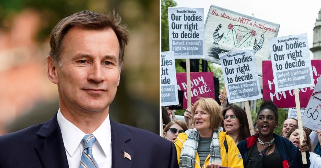 Jeremy Hunt said his views were a matter of conscience