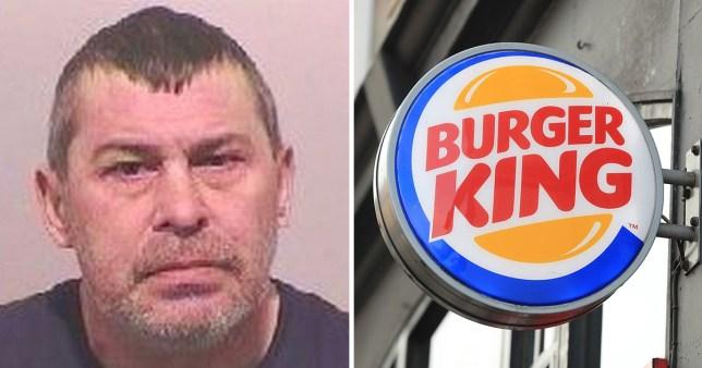 Burglar, Burger King