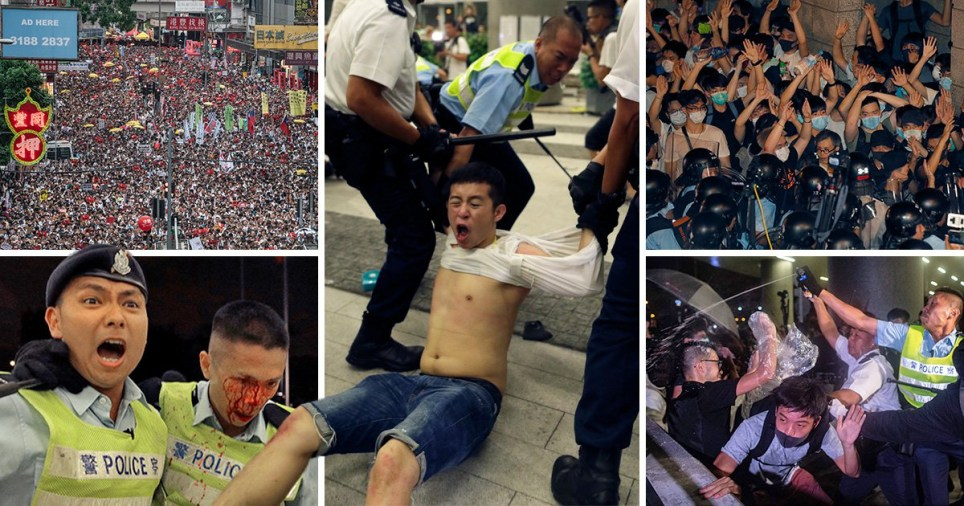People in Hong Kong are protesting proposed changes to extradition law