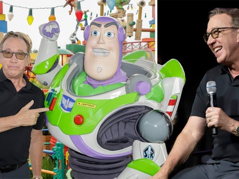 Toy Story bosses wouldn't let Tim Allen improvise with the script