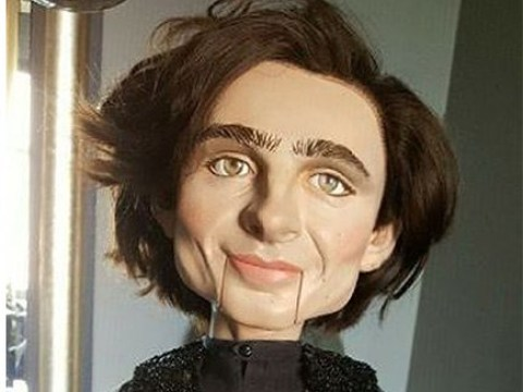 Want nightmares for life? Buy this terrifying Timothee Chalamet ventriloquist doll on eBay