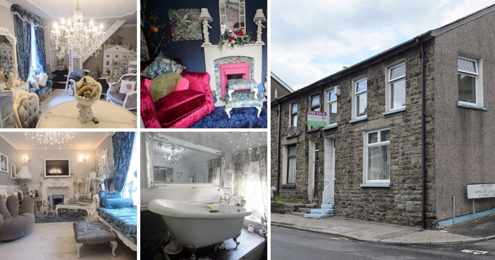 This is not your typical Welsh Valleys terraced house