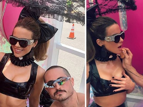 Kate Beckinsale is an absolute queen as she rocks latex at Los Angeles Pride