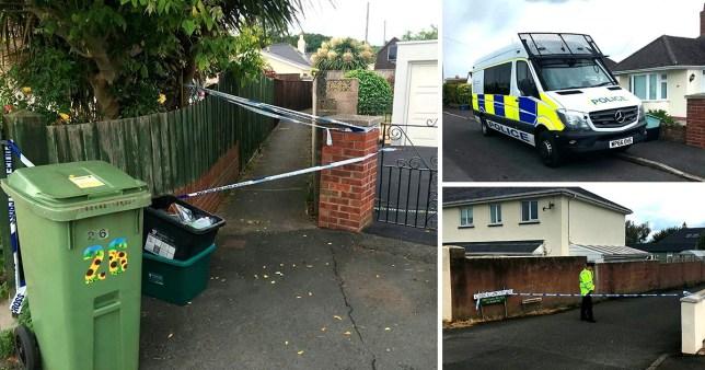 Man in his 70s stabbed to death in Devon market town