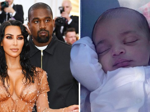 Kim Kardashian gives us a new look at her son Psalm and he is a little cutie