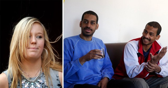 Bethany Haines, the daughter of aid worker David Haines, has vowed to meet Alexanda Kotey and El Shafee Elsheikh